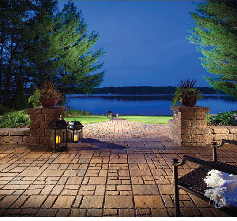 5 Ways To Add Landscape Lighting To Concrete Hardscaping: Hardscaping Certification Gives Landscapers A Competitive Edge
