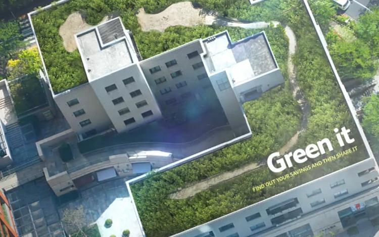online calculator estimates green roof benefits. Black Bedroom Furniture Sets. Home Design Ideas