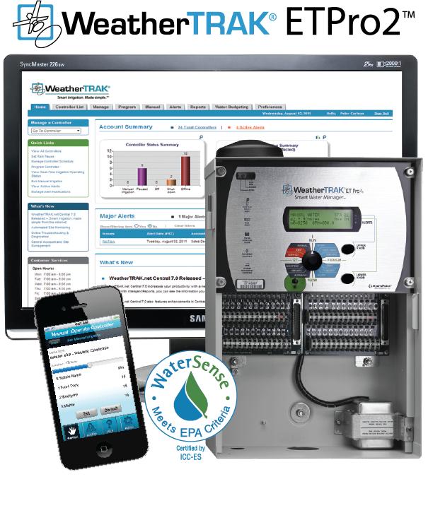 Weathertrak earns epa watersense label for Watersense label