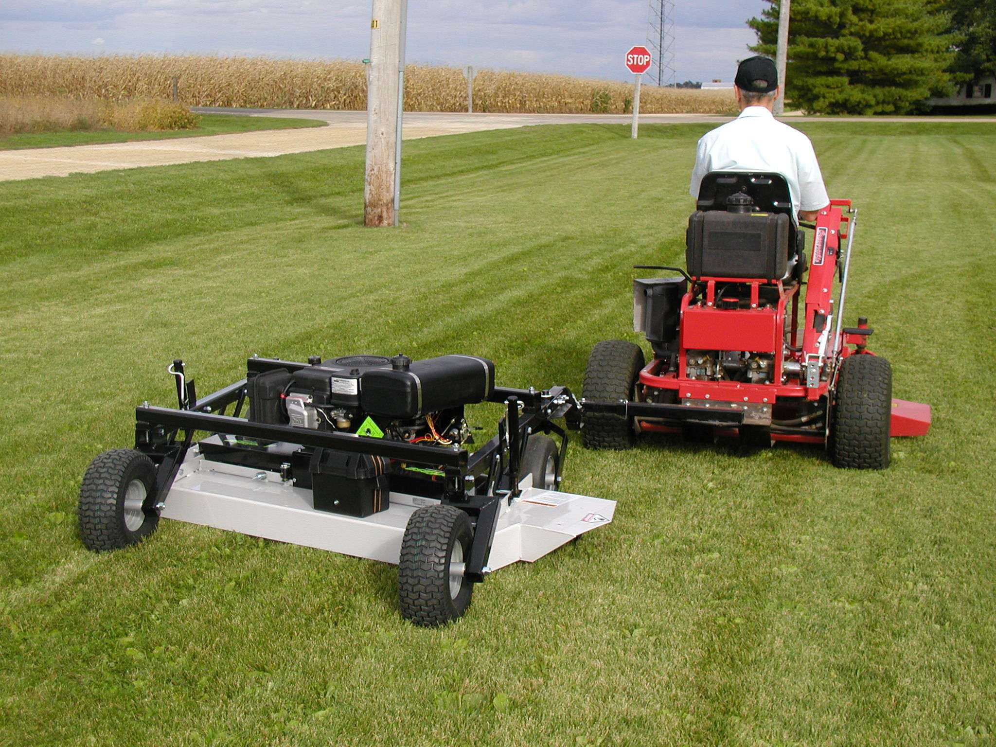 Best Finish Mower For Tractor : Acrease pull behind mower