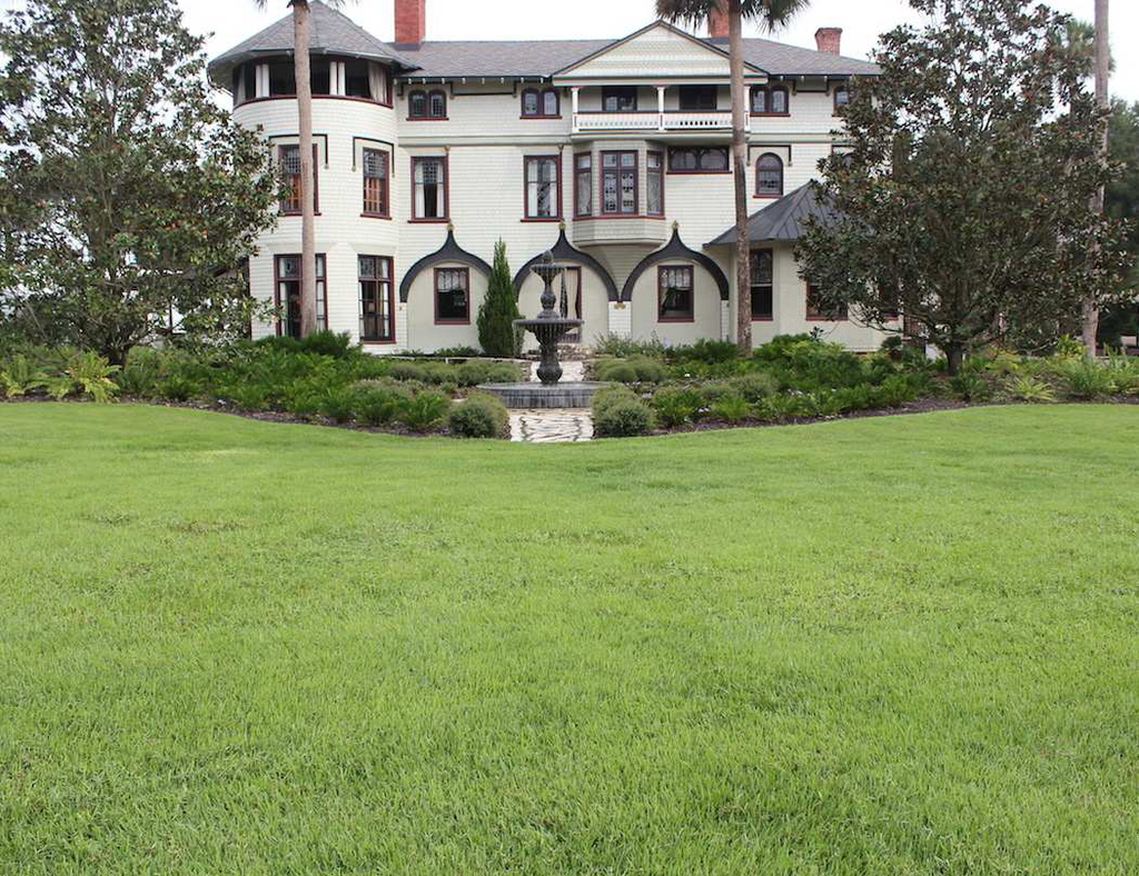 Stetson Mansion Lawn Renovation