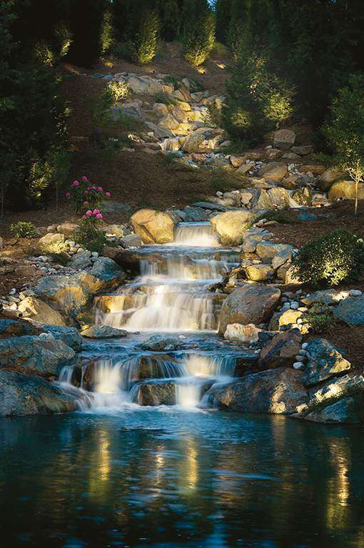 6 Principles Of Lighting Water Features