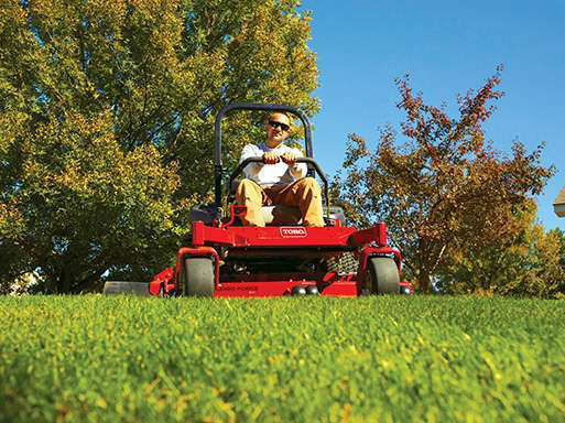 How to balance mower speed & quality cut