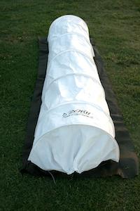 Dewitt Unveils Straw Tacksak Solar Heating Gro Tunnel