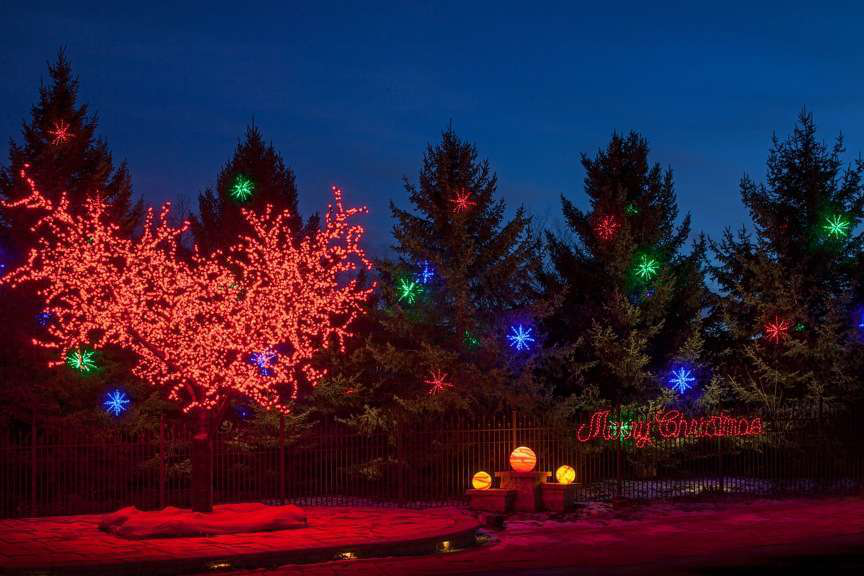 Day 4 12 days of christmas lights holiday lighting omaha nebraska mckay landscape lighting 09 mozeypictures Image collections
