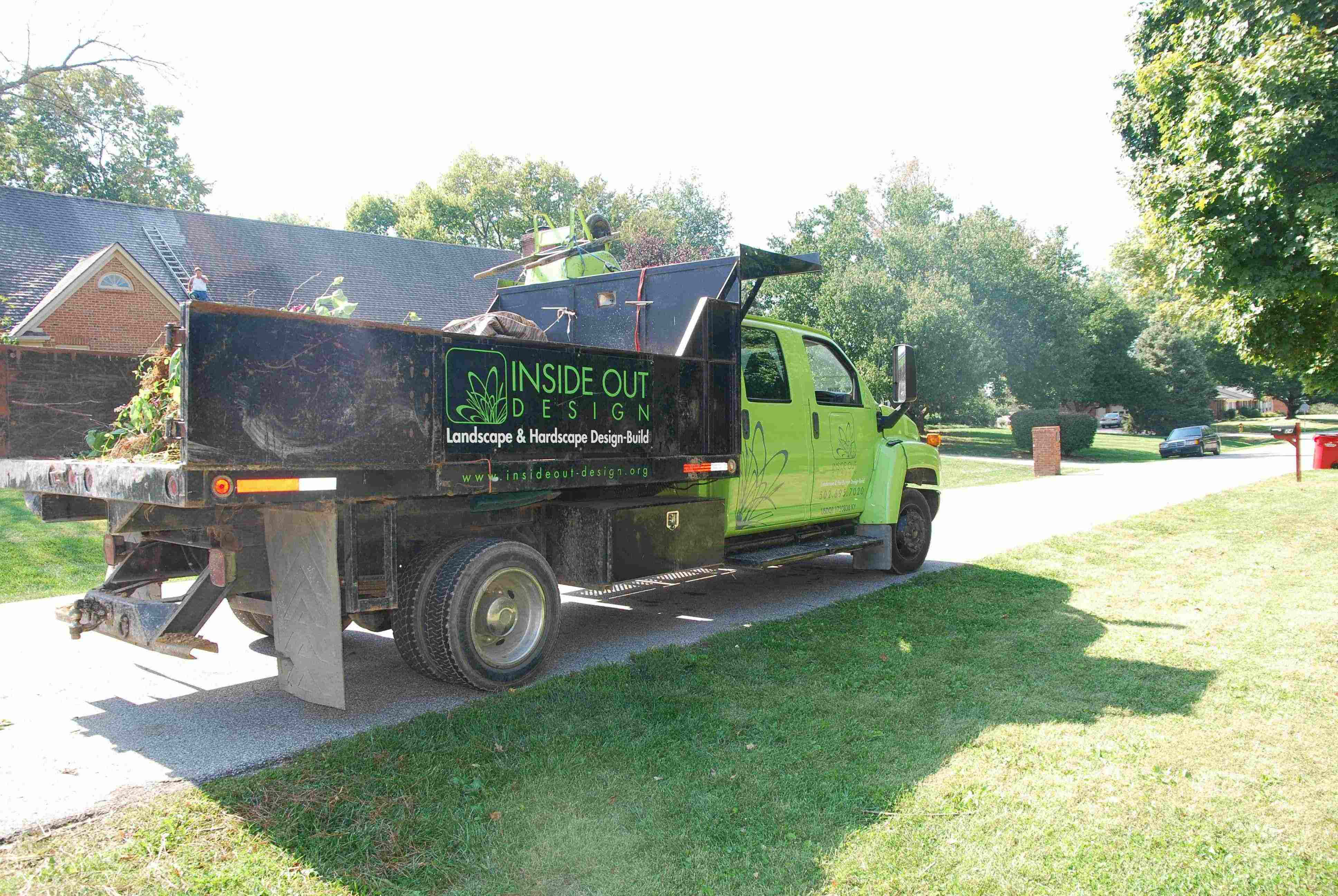 How to turn fleets into marketing machines for Landscape gardening company