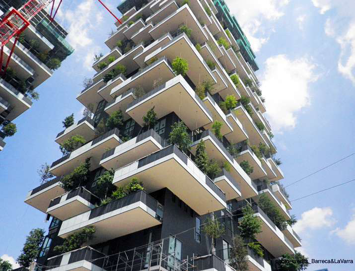 World's First Vertical Forest Nearly Complete