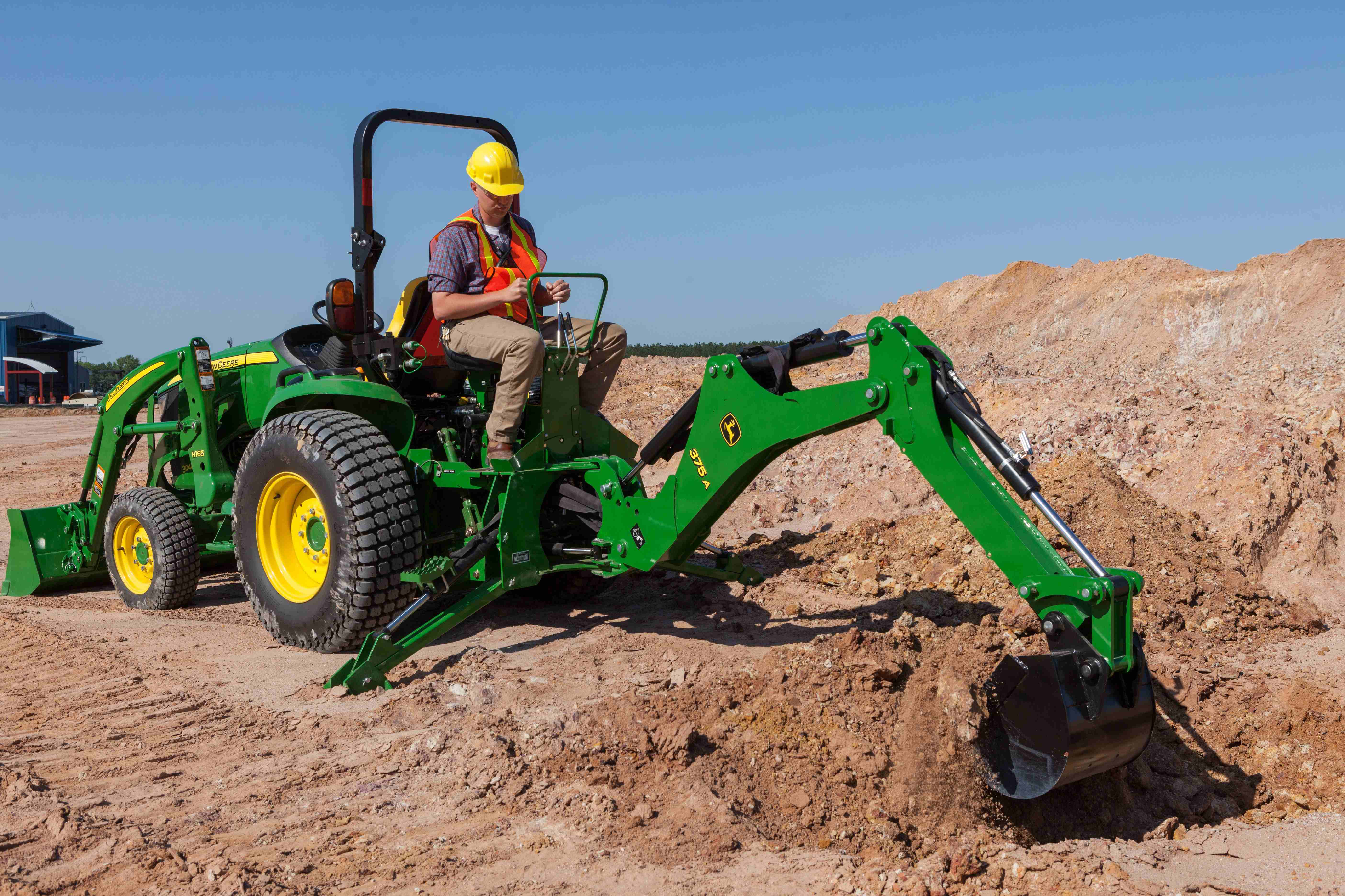 Tractor Implements And Attachments : John deere intros compact utility tractors