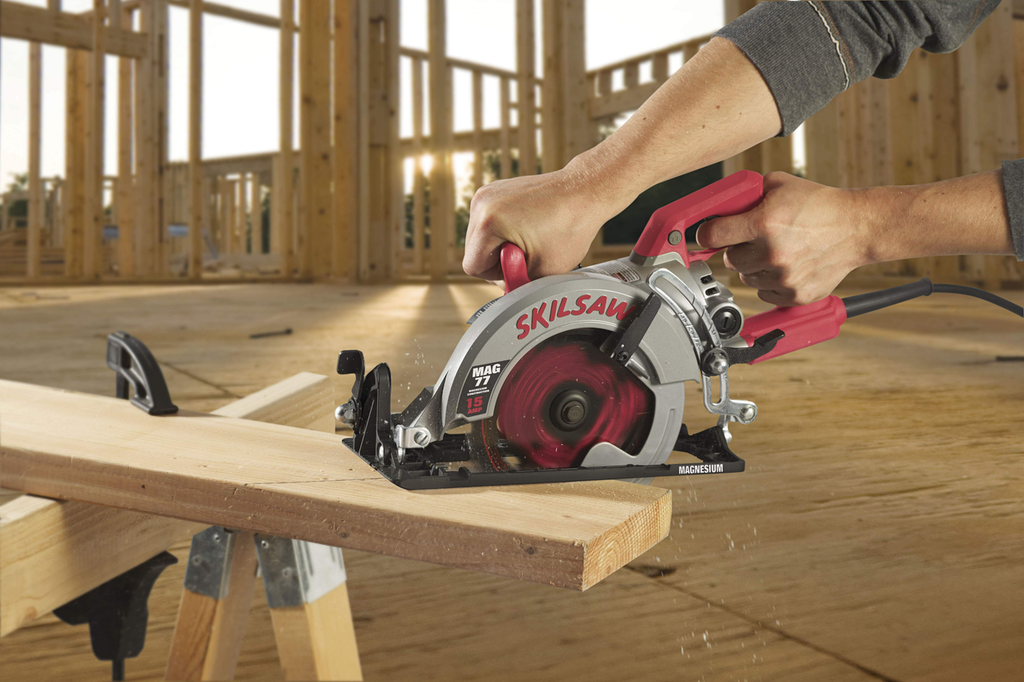 Skilsaw Line Features Three Lightweight Worm Saws