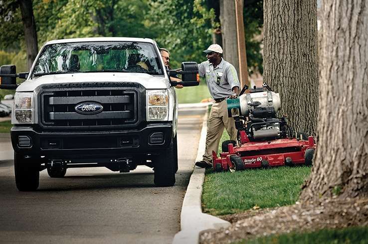 Perc Total Landscape Care Magazine By Using Propane With Your Trucks