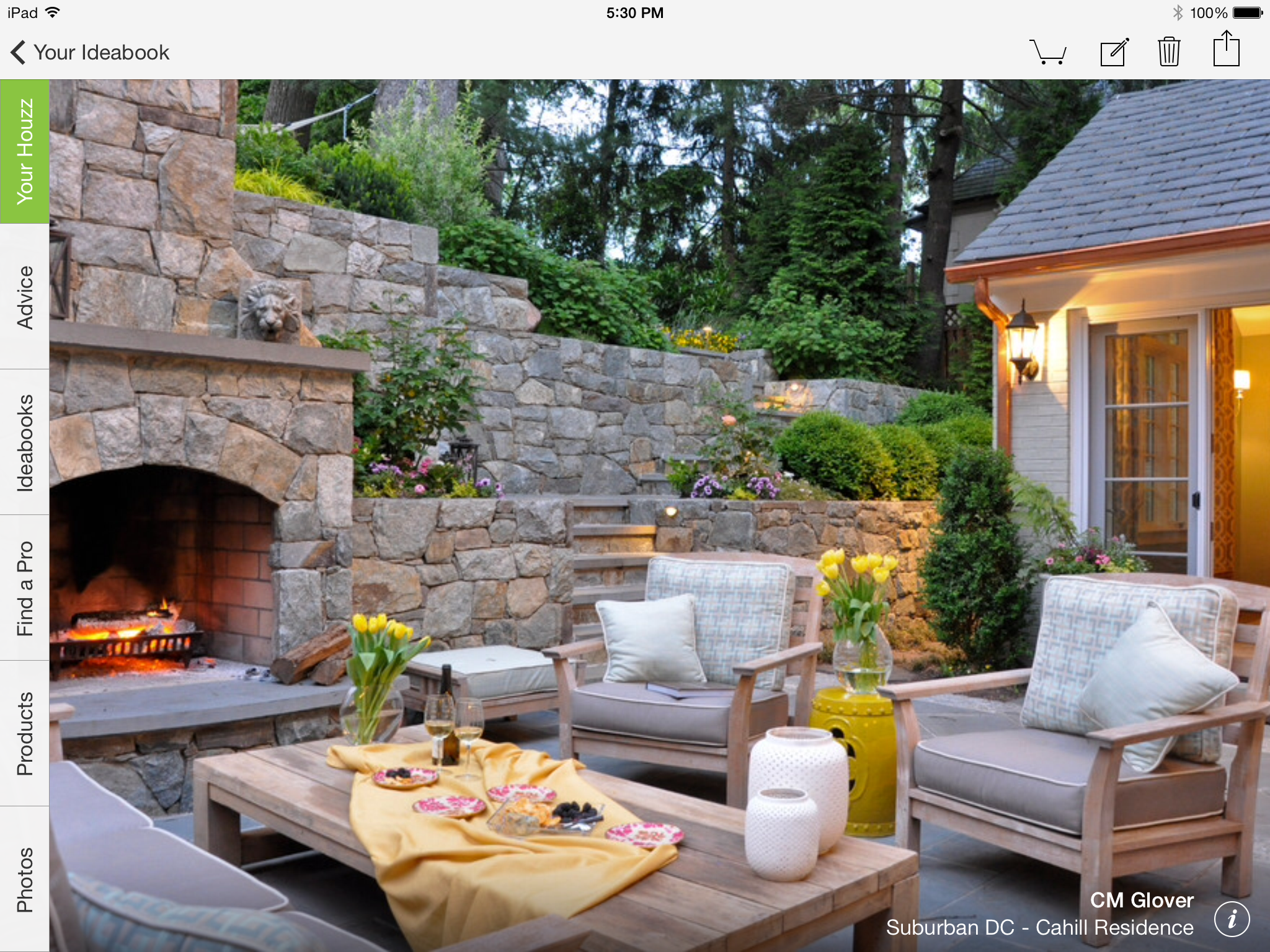 Houzz Spring Landscaping Trends Study