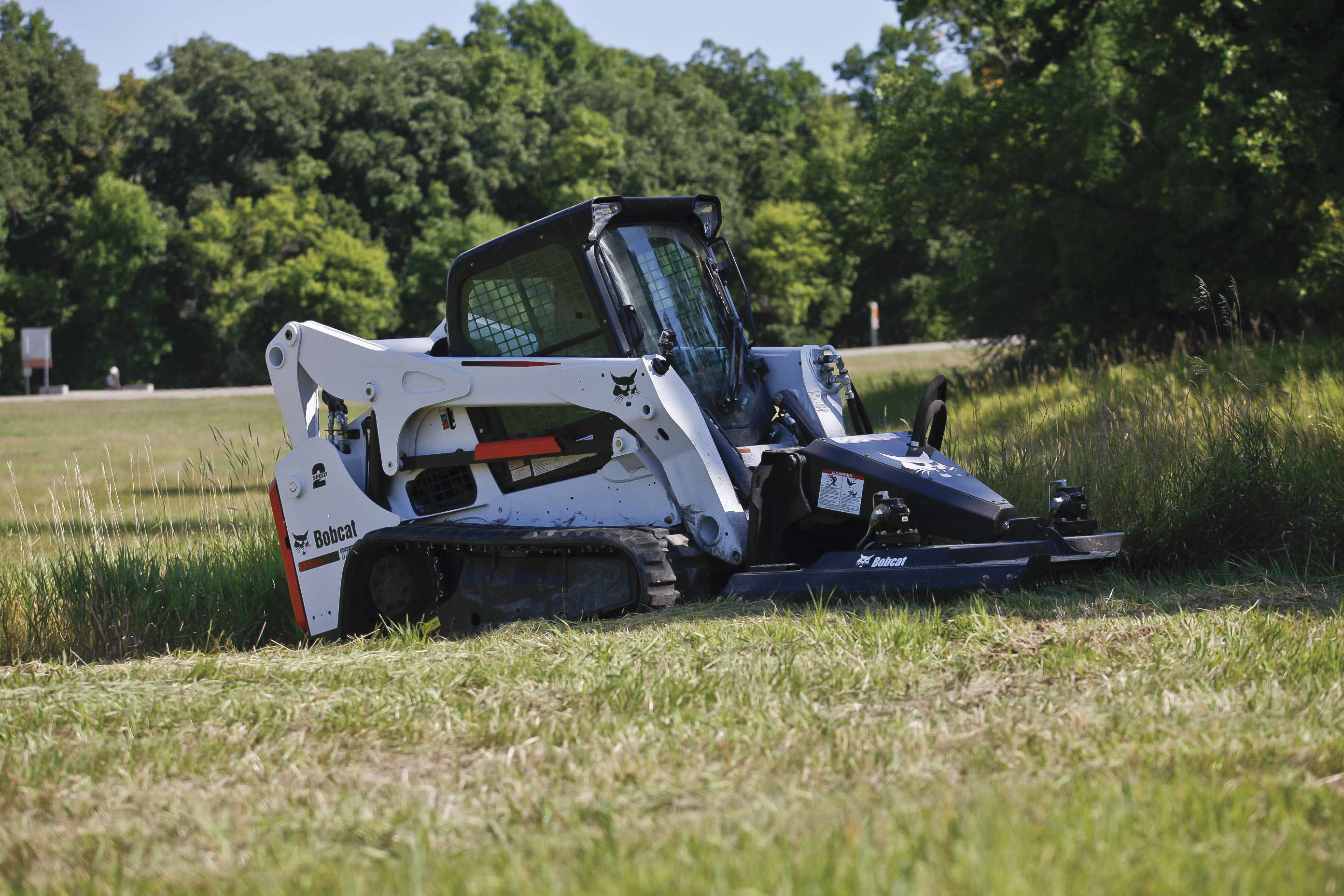 Bobcat S Brushcat Rotary Cutter Designed To Tackle Tough