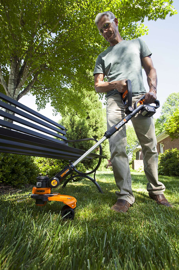 Worx Gt 2 0 >> Worx 32V GT Trimmer Features Three Tools in One