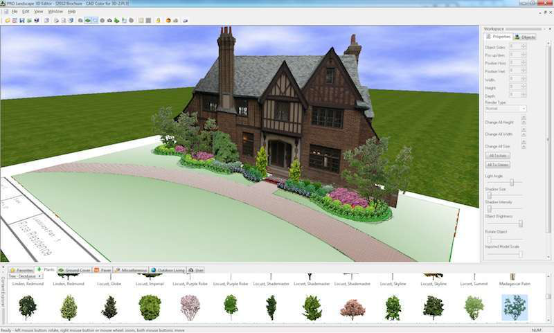 Design software can come in both 2-D and 3-D photo imaging, as well as can be used on iPads and Android tablets for landscapers on the go. Photo: PRO Landscape