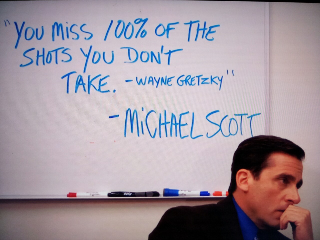 How to Act Like Michael Scott advise
