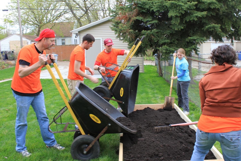 Case Helps Victory Garden Initiative Build 500 Gardens in Wisconsin