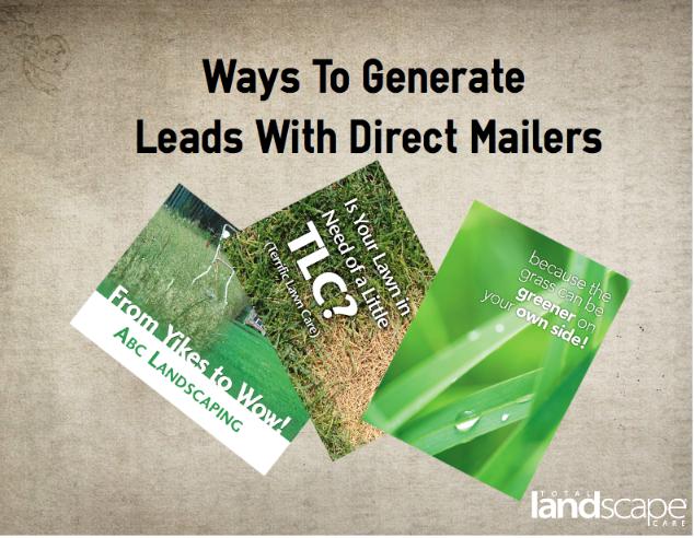 Direct Mailer Total Landscape Care