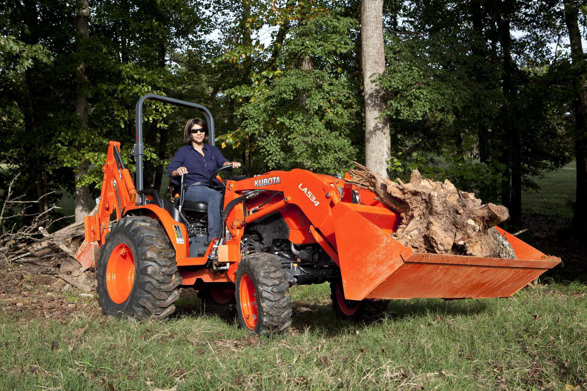 Kubota Intros Three Rops Compact Tractors To B50 Series