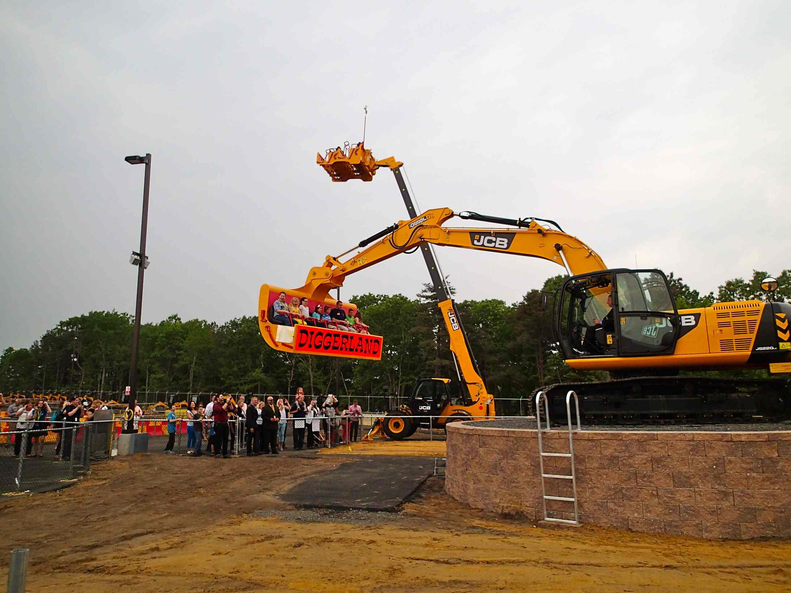 Construction Equipment Theme Park Now Open