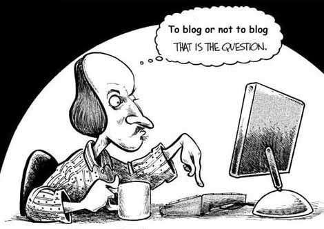 Why I Won't Write Another Blog (Until Tomorrow)