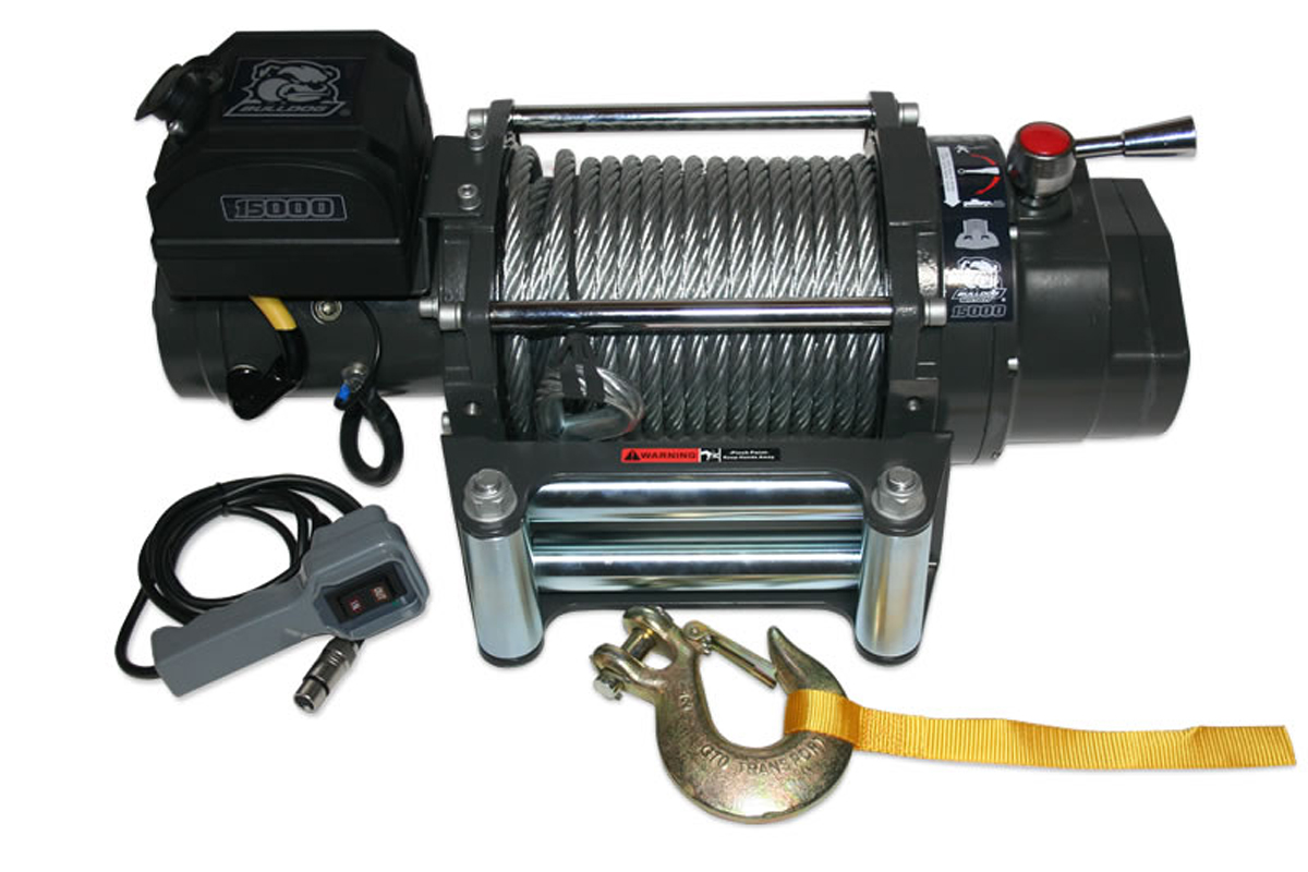 How To Choose The Best Winch For Your Pickup Wiring Diagram In Addition Warn On Bulldog 15k Hd Heavy Duty Truck From Uses A 72