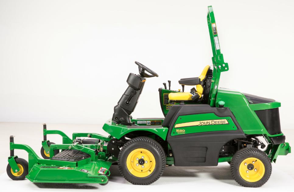 Deere Introduces 1500 Series Terraincut Front Mowers