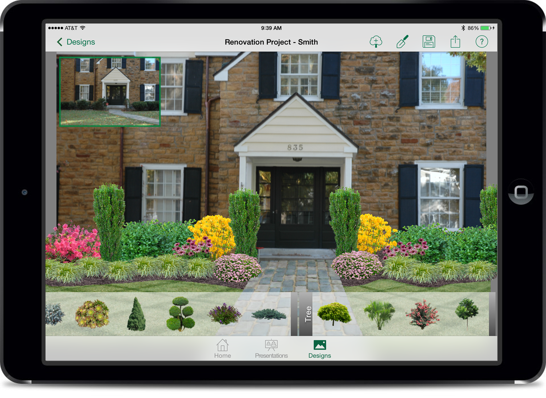Pro landscape unveils landscape design bidding app for for Professional landscape design