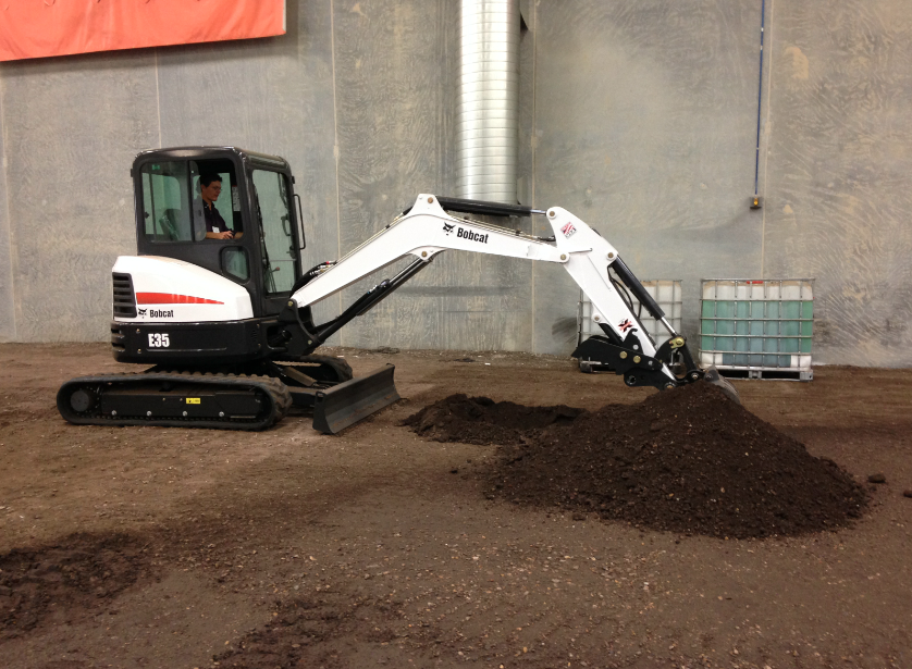 First Look at Bobcat's E32, E35 Compact Excavators