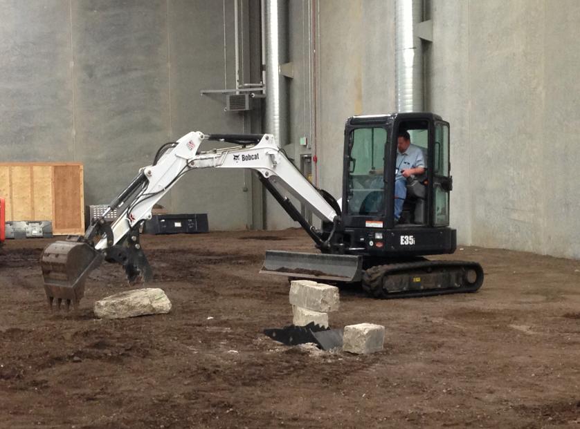 First Look at Bobcat's E32, E35 Compact Excavators