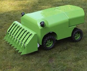 Man Invents Self-Fueled Mower