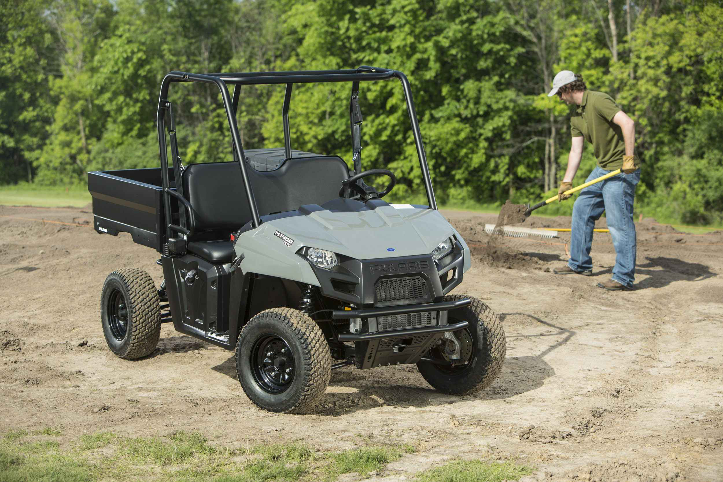 Polaris Expands GEM Line with Gas-Powered, Electric Utility Vehicles