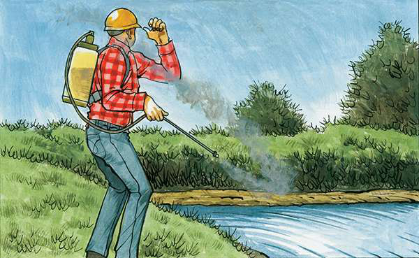How To Prevent Injury from Pesticide Spray Drift