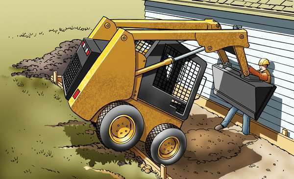 How To Operate Skid Steers Properly, Safely