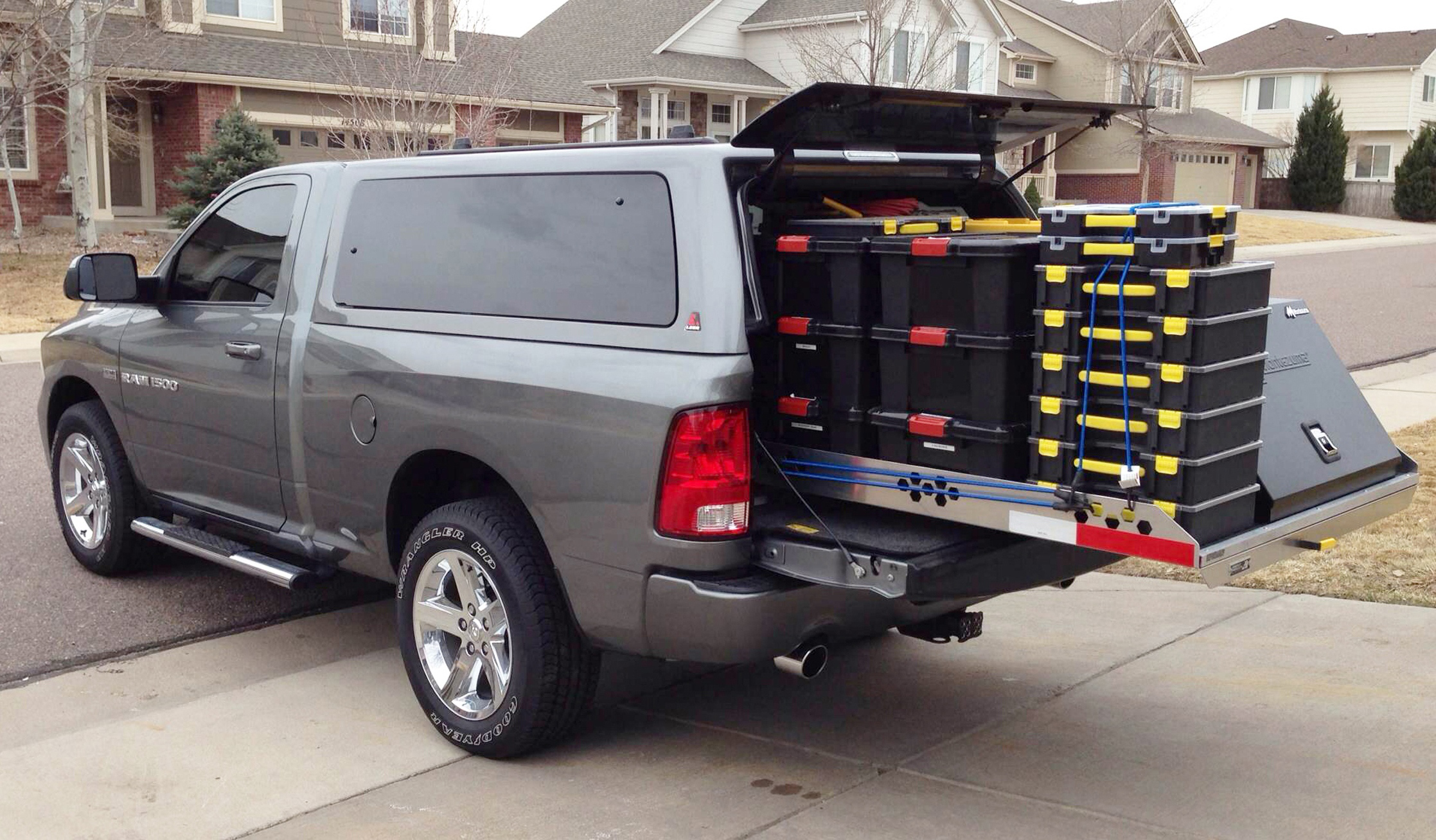 Highway Products Redesigns 4 000 Pound Capacity Cargo Tray