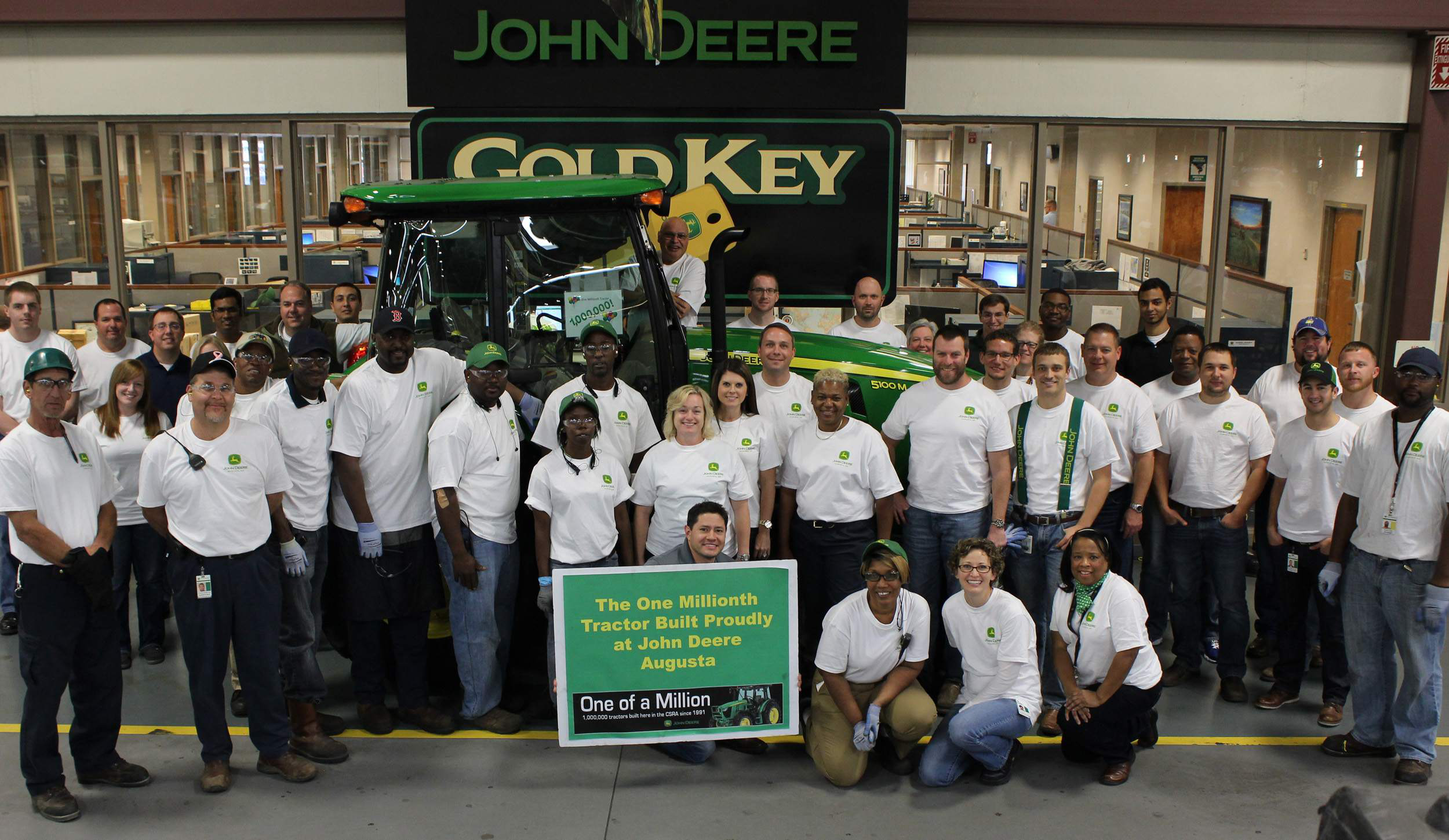 John Deere Factory Rolls Out One Millionth Tractor
