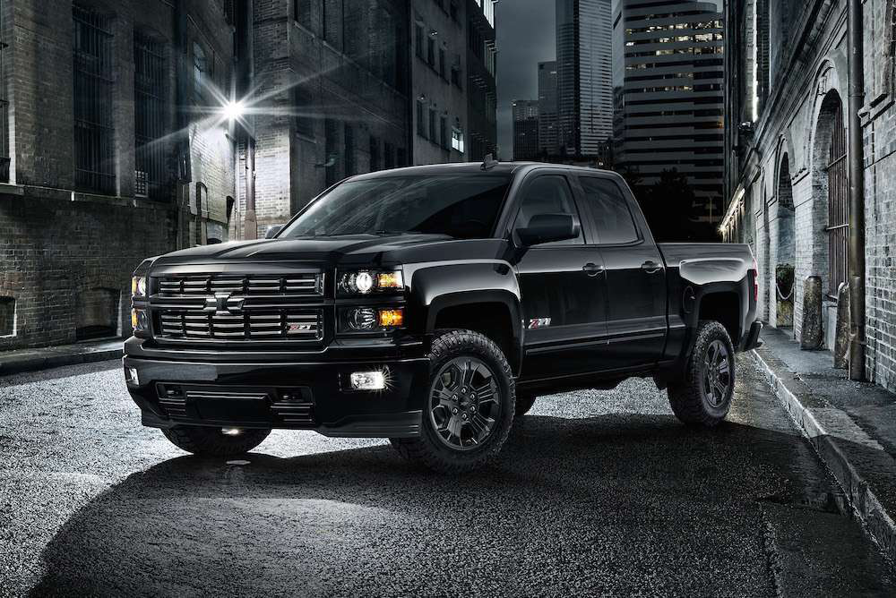 gm releases 2015 chevy silverado midnight gmc sierra. Black Bedroom Furniture Sets. Home Design Ideas