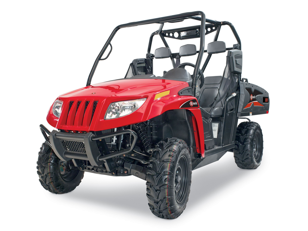 (Photos) Exmark adds two side-by-side UTVs to 2015 lineup