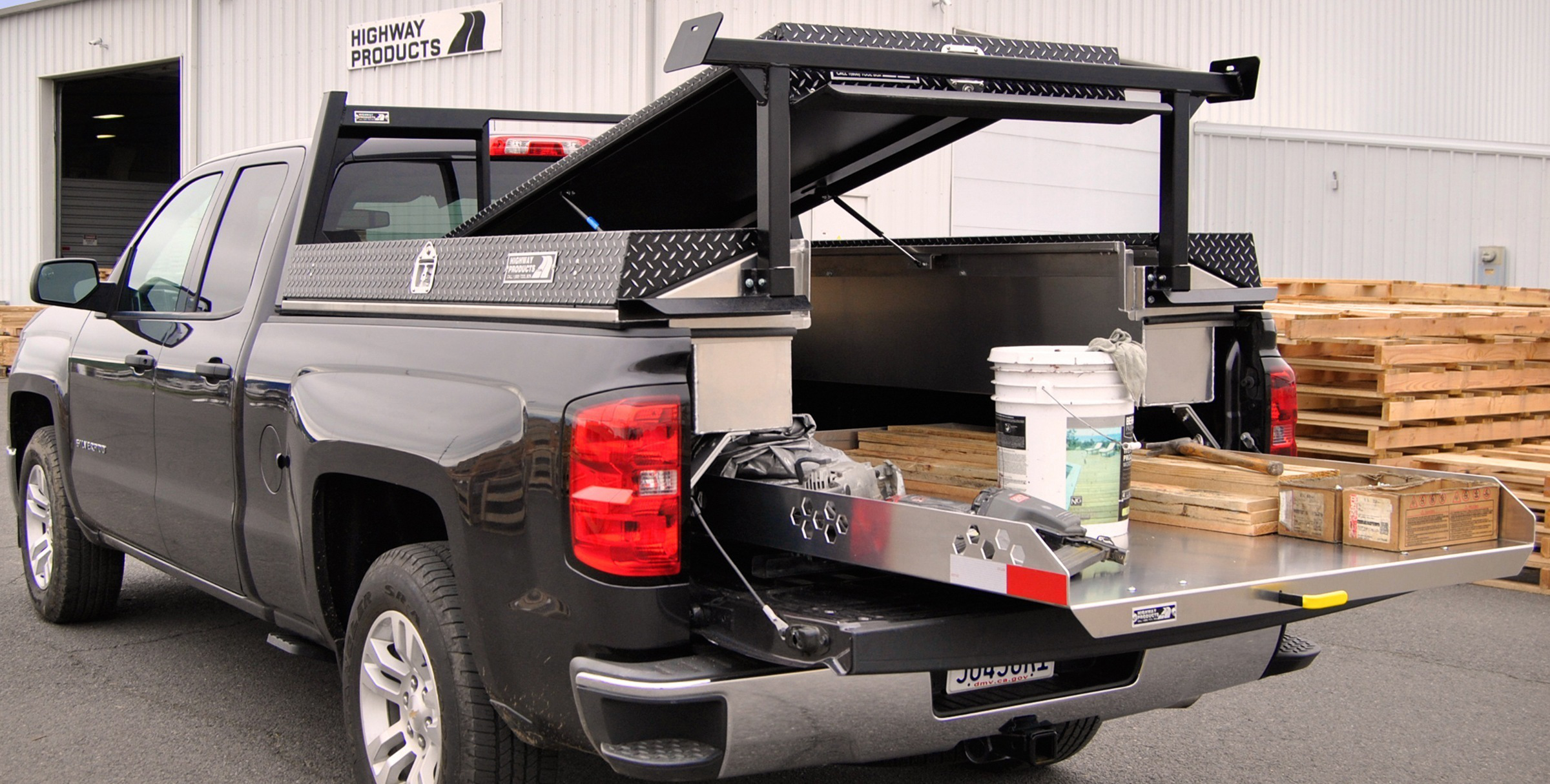 Highway Products Unveils Pickup Bed Organizing System