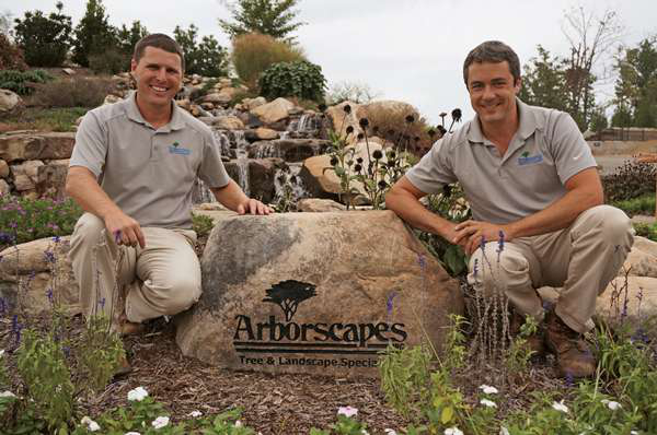 Jason Tebben and Nathan Morrison Arborscapes Tree and Landscape Specialists Pineville, North Carolina www.arborscapes.netv