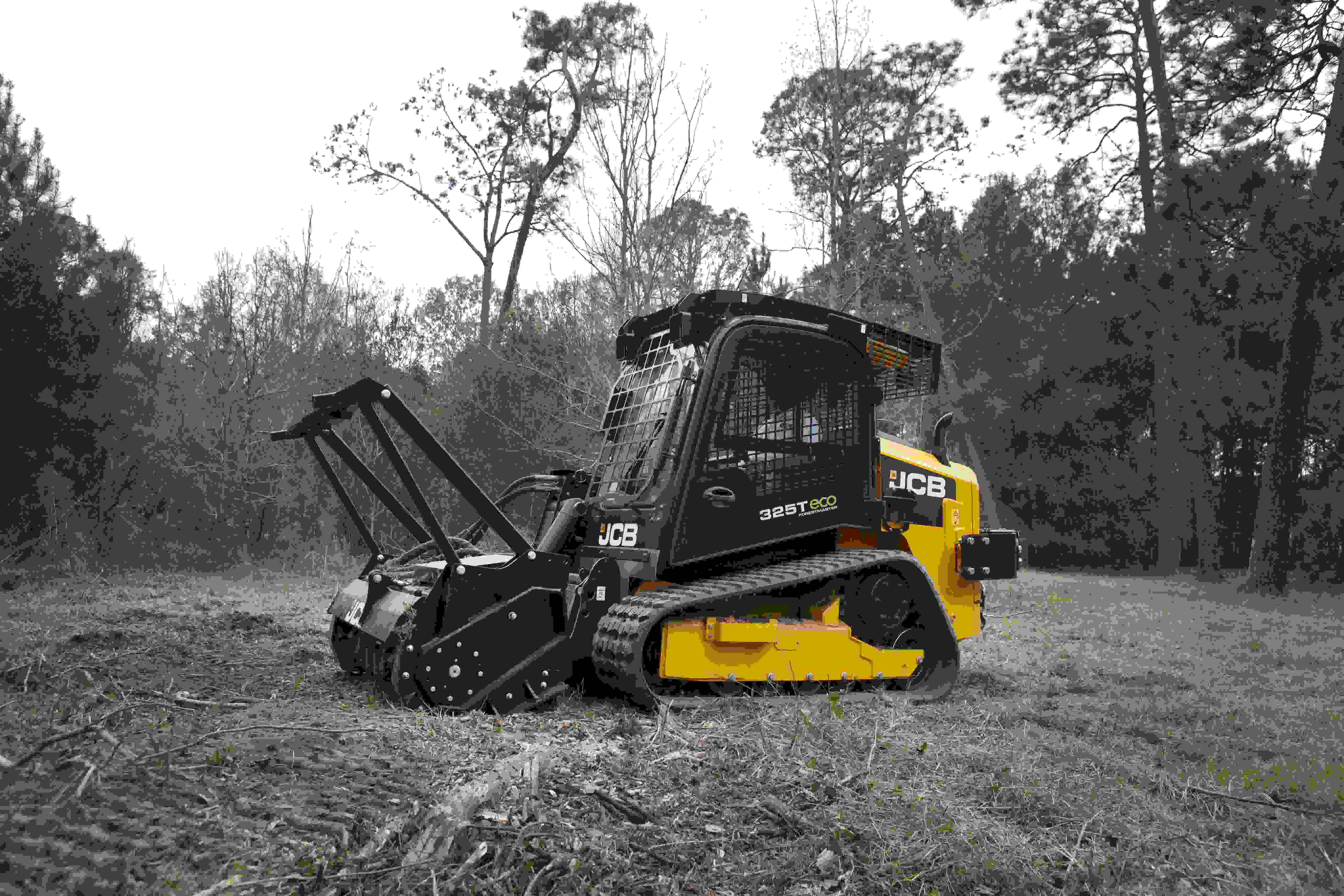 Jcb Reveals Newest Compact Track Loader Forestmaster 325t Eco