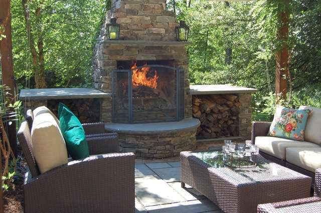 Design Build Firepits And Fireplaces