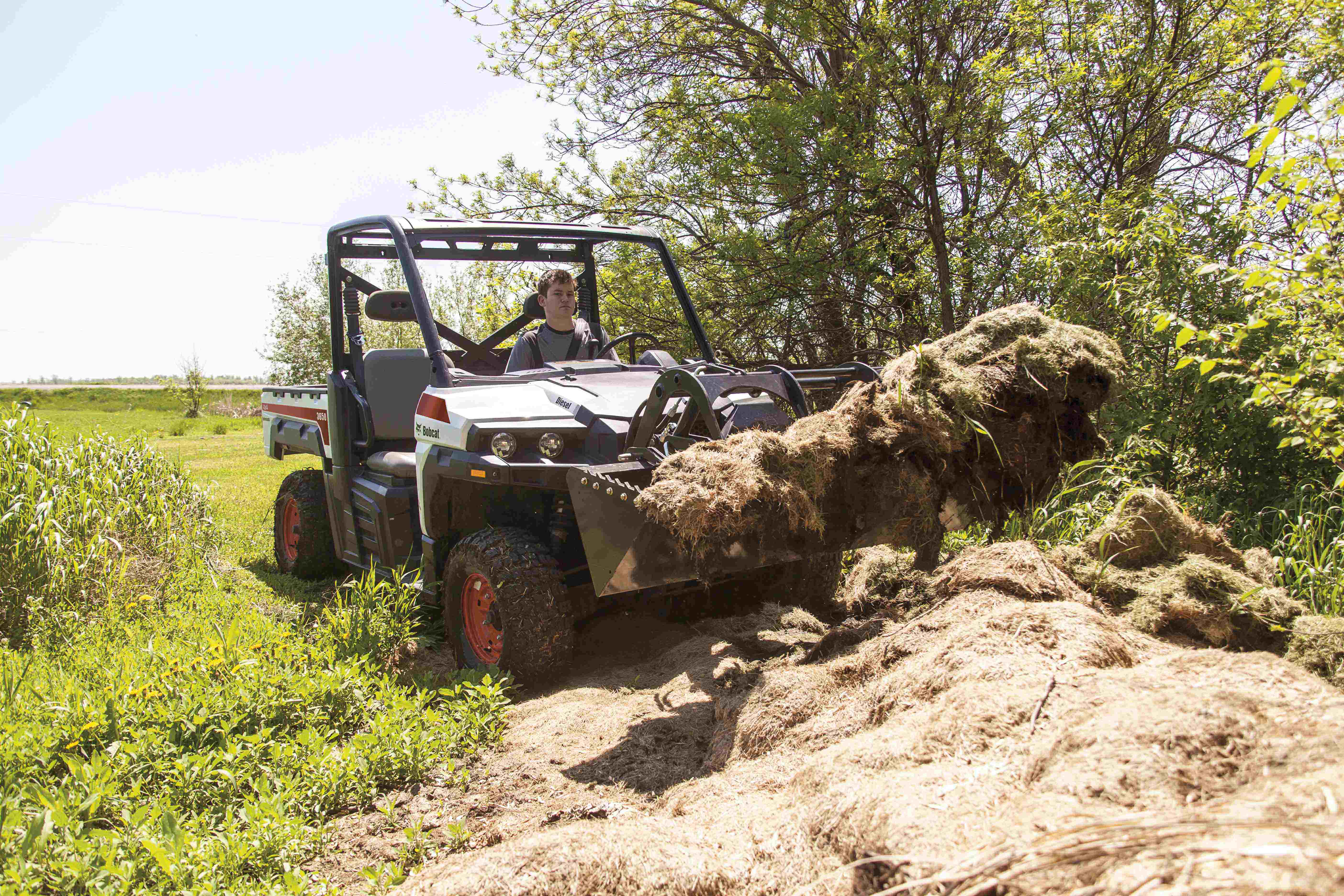 Bobcat's 3600, 3650 utility vehicles feature hydrostatic