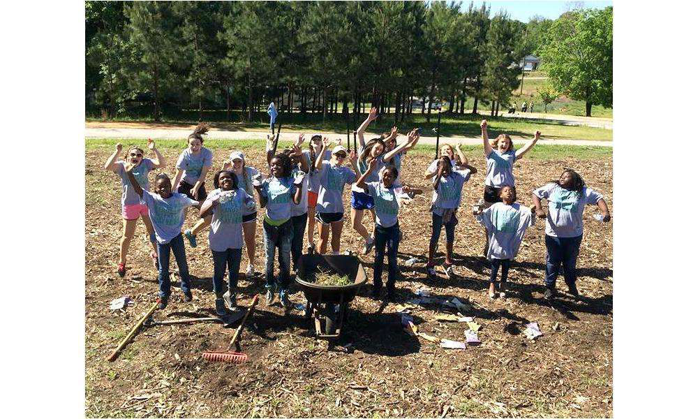 Volunteers Help With Landscaping At Local Non Profits