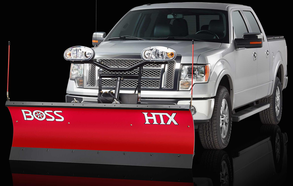 Boss Snowplow Launches Htx Straight Blade Plow Series