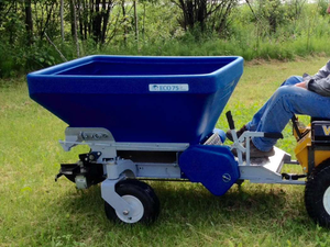 Ecolawn Applicator Introduces New Top Dressers Spreader