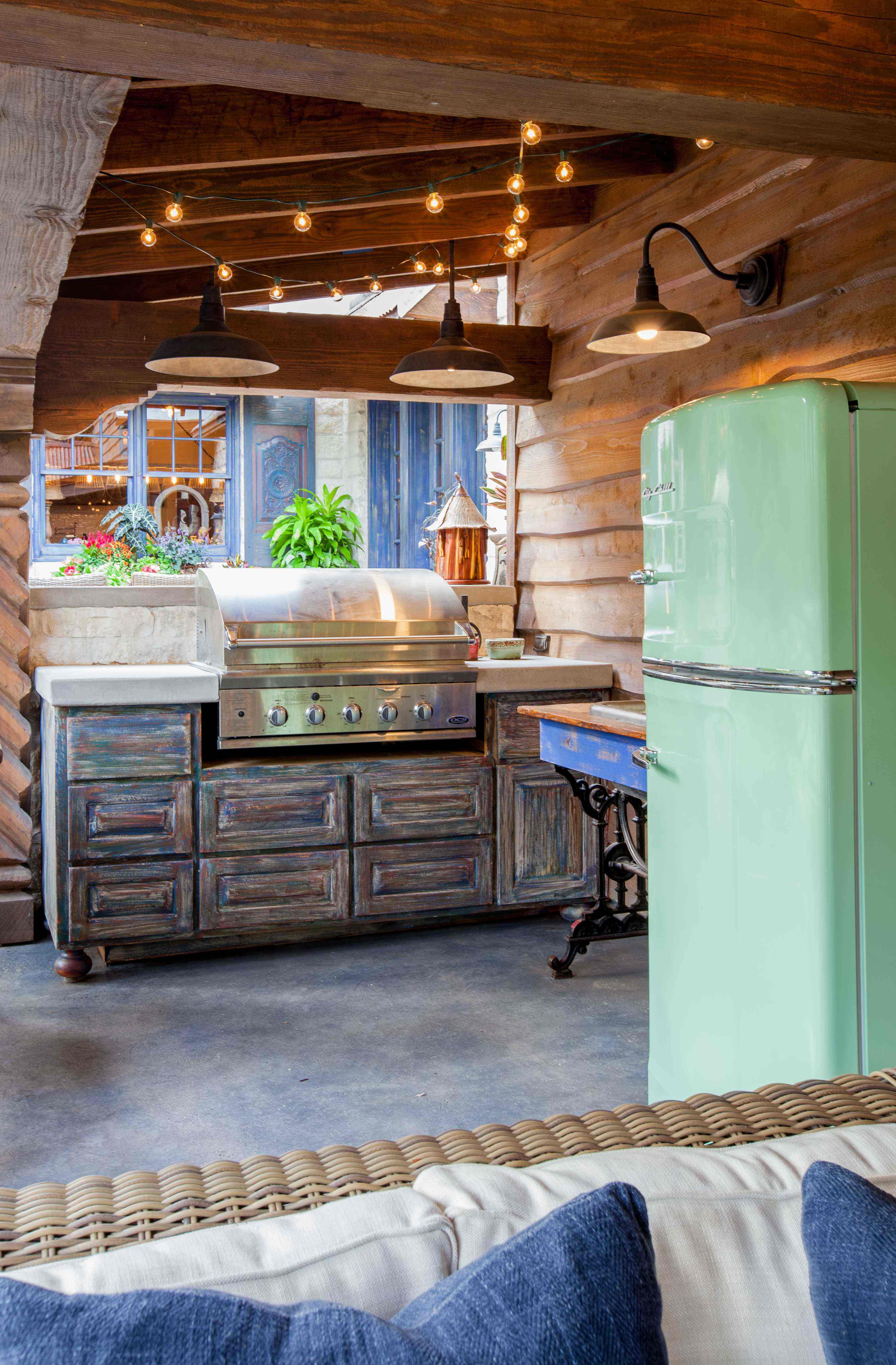 Adding A Retro Full Size Fridge Can Bring Both Color And Personality To Your Client S