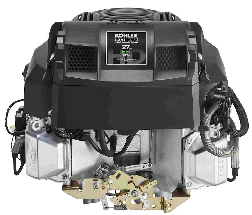 The largest of the four new Confidant EFI engines, this model has 27 horsepower. Photo: Kohler Engines
