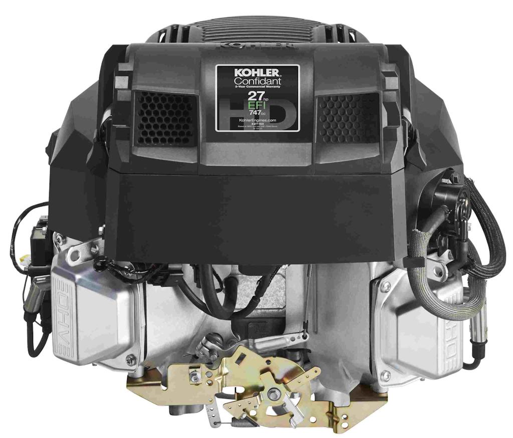 The largest of the four new Confidant EFI engines, this model has 27 horsepower. Photo: Kohler Engines