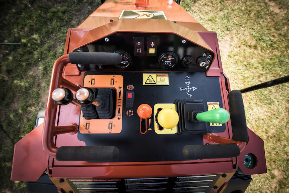 Skid Steer Control Levers : Ditch witch adds power to its mini skid steer sk