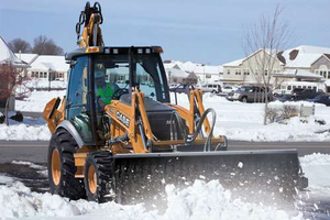 """Case says the """"SmartClutch"""" feature on its backhoes enables the operator to customize the feel of forward-to-reverse transitions to suit his preference."""